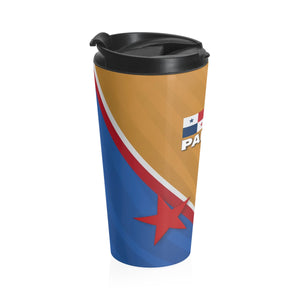 Panama Gold Stainless Steel Travel Mug
