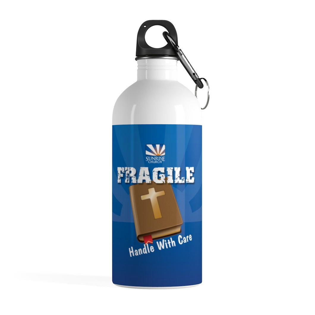 Sunrise Fragile Stainless Steel Water Bottle