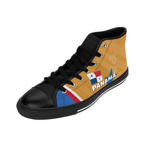 Panama Gold Men's High-top Sneakers Tennis