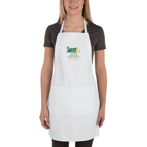 "SweetEs ""I Can and I Will"" Embroidered Apron"