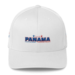 Soy de Panama 3D Embroidered (4 sides) Original FlexFit Cap