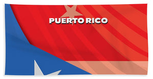 Puerto Rico - Bath Towel