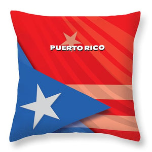 Puerto Rico - Throw Pillow