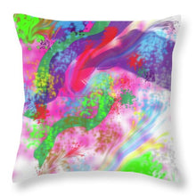 Splatter - Throw Pillow