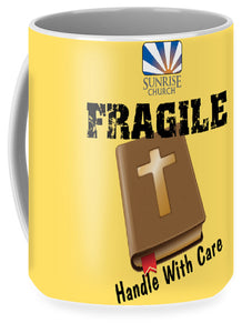 Sunrise Fragile Yellow - Mug