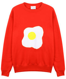 RED EGG SWEATSHIRT - MCINDOE DESIGN - tropical - printed - clothing - travel - beach