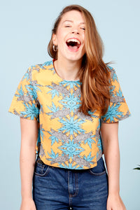 MANCORA TOP - MCINDOE DESIGN - tropical - printed - clothing - travel - beach