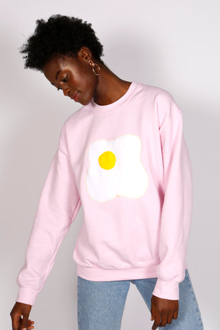 PINK EGG SWEATSHIRT