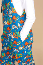 Load image into Gallery viewer, DINOSAUR DUNGAREES