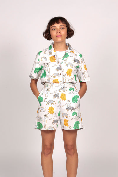 PRE-SALE: BARENAKED LADIES SHORTS - MCINDOE DESIGN - tropical - printed - clothing - travel - beach