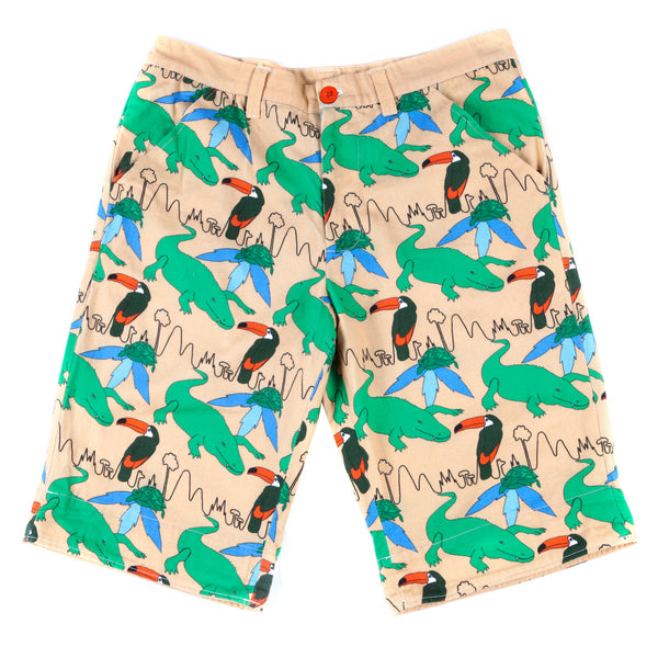 TROPICAL PRINT SHORTS - MCINDOE DESIGN - tropical - printed - clothing - travel - beach