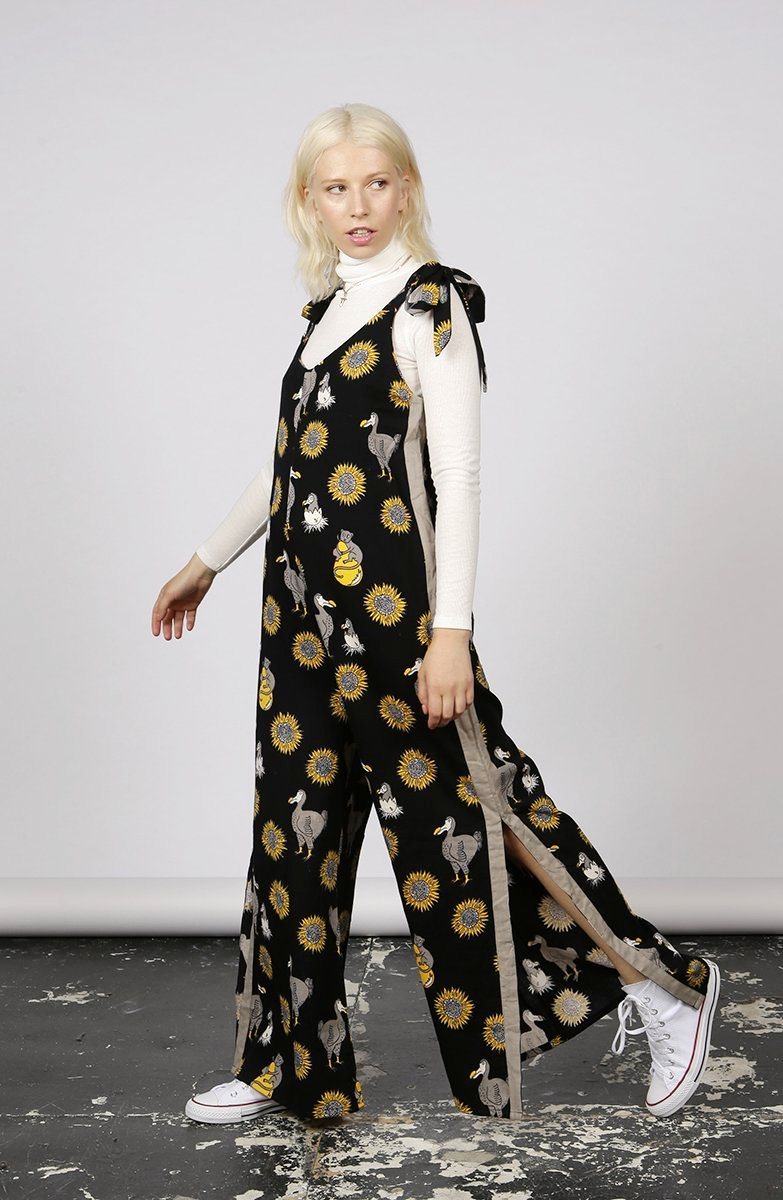 DODO PRINT JUMPSUIT - MCINDOE DESIGN - tropical - printed - clothing - travel - beach