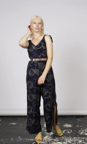 JUST LANDED: SMOKIN' SOL PRINT JUMPSUIT - MCINDOE DESIGN - tropical - printed - clothing - travel - beach