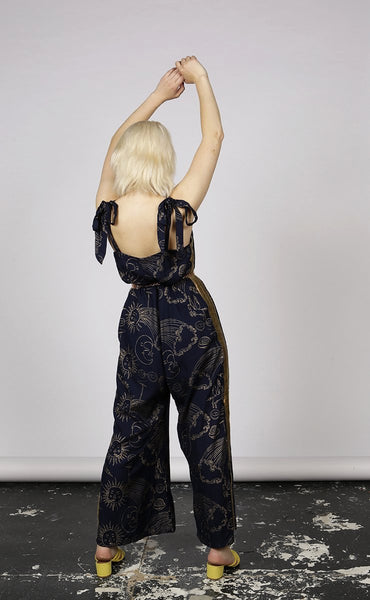 SMOKIN' SOL PRINT JUMPSUIT - MCINDOE DESIGN - tropical - printed - clothing - travel - beach