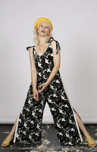 Orca Print Jumpsuit - MCINDOE DESIGN - tropical - printed - clothing - travel - beach