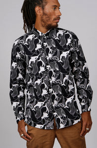 ORCA SHIRT - MCINDOE DESIGN - tropical - printed - clothing - travel - beach
