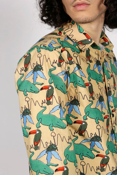 TROPICAL SHIRT - MCINDOE DESIGN - tropical - printed - clothing - travel - beach
