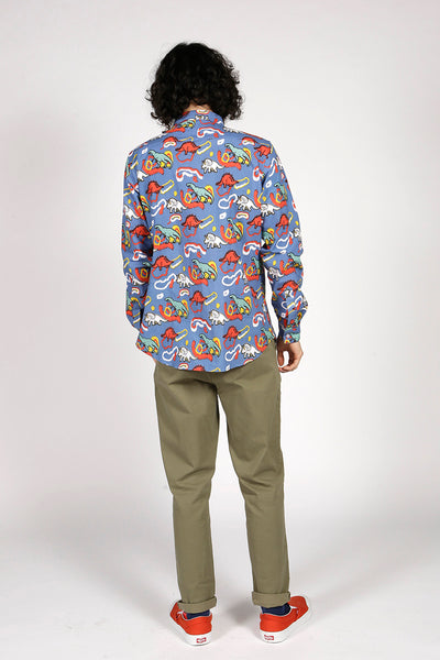 DINOSAUR SHIRT - MCINDOE DESIGN - tropical - printed - clothing - travel - beach