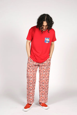 CHILLI TROUSERS - MCINDOE DESIGN - tropical - printed - clothing - travel - beach