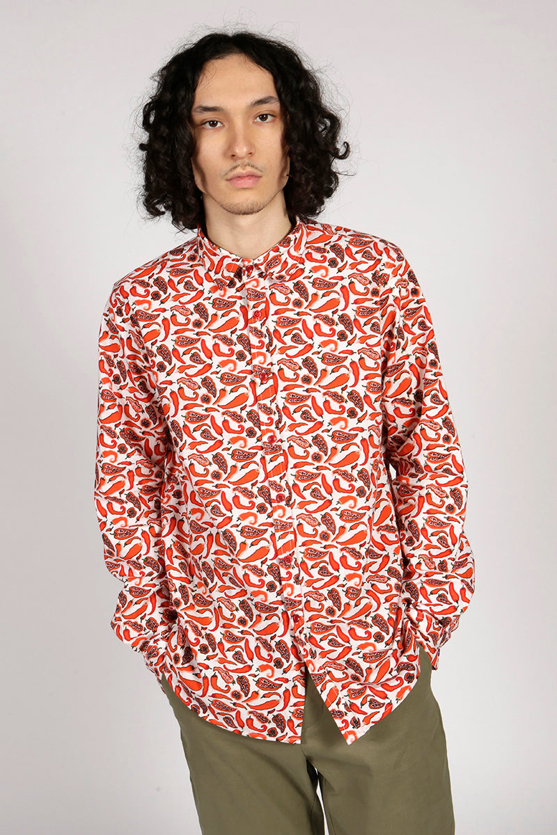 CHILLI SHIRT - MCINDOE DESIGN - tropical - printed - clothing - travel - beach
