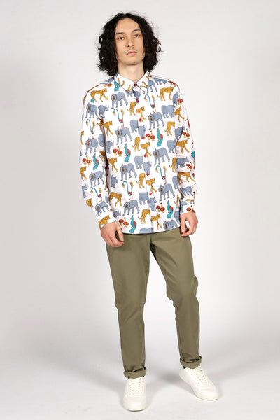 JUNGLE SHIRT - MCINDOE DESIGN - tropical - printed - clothing - travel - beach