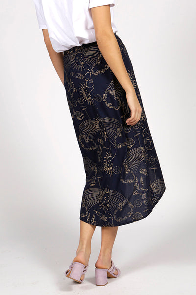 SMOKIN' SOL WRAP SKIRT - MCINDOE DESIGN - tropical - printed - clothing - travel - beach