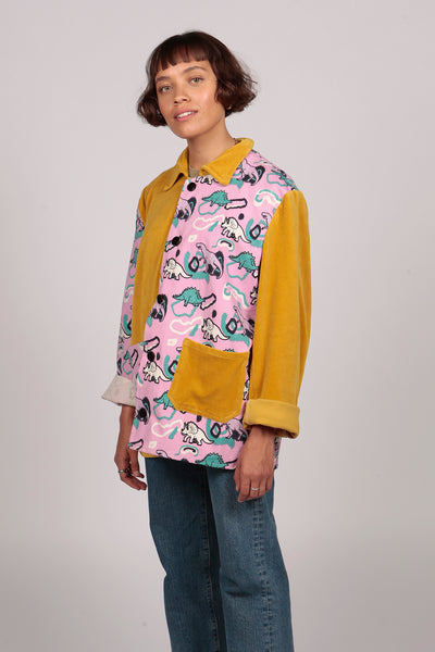 Dinosaur Jacket - MCINDOE DESIGN - tropical - printed - clothing - travel - beach