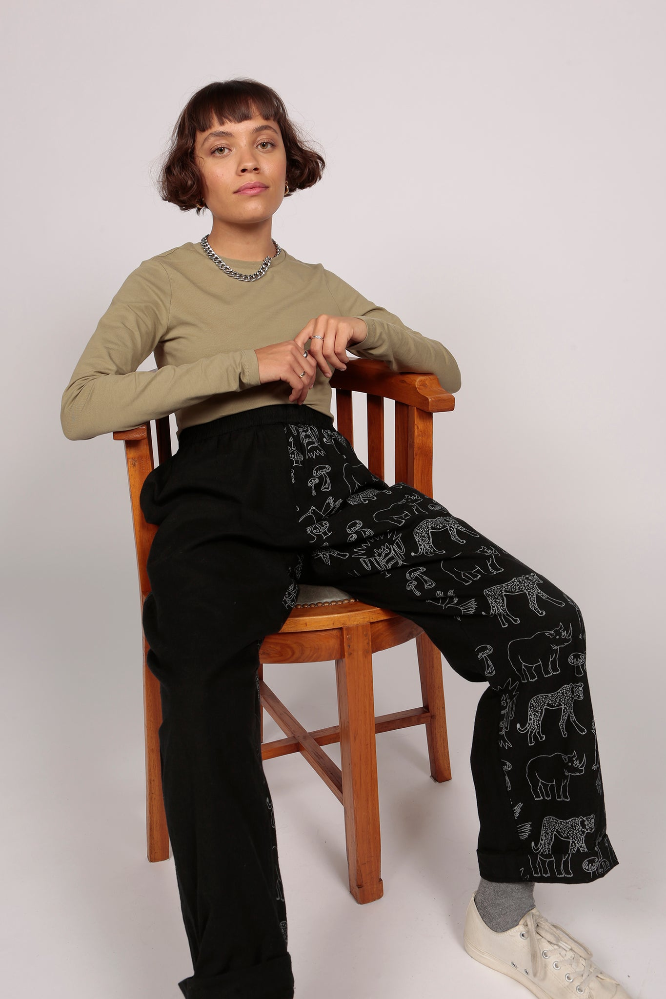 Patchwork Jungle Trousers
