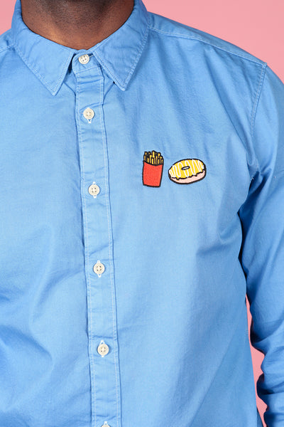 FAST FOOD SHIRT - MCINDOE DESIGN - tropical - printed - clothing - travel - beach