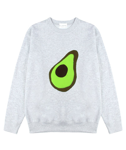 THE AVOCADO SWEATSHIRT - MCINDOE DESIGN - tropical - printed - clothing - travel - beach