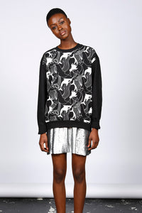 ORCA PRINT SWEATSHIRT - MCINDOE DESIGN - tropical - printed - clothing - travel - beach