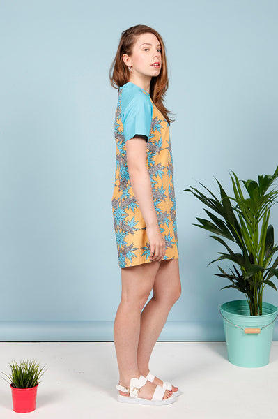 SALVADOR RAGLAN SLEEVE DRESS - MCINDOE DESIGN - tropical - printed - clothing - travel - beach