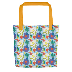 Egg Print Tote bag - MCINDOE DESIGN - tropical - printed - clothing - travel - beach