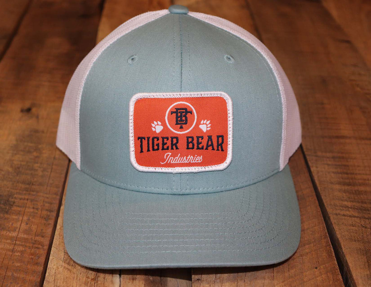 TigerBear Woven Patch Trucker