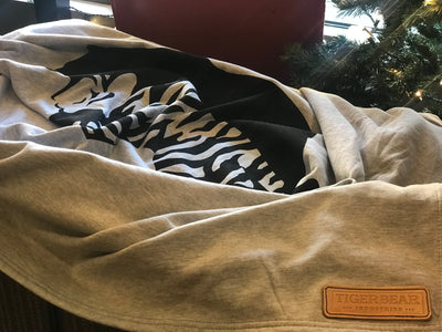 TigerBear Sweatshirt Camp Blanket