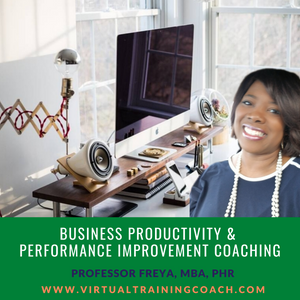 Productivity and Performance Improvement Coaching