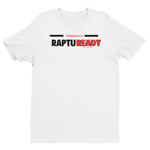 Rod Inspirations Custom Rapture Ready Overlap Short Sleeve T-shirt