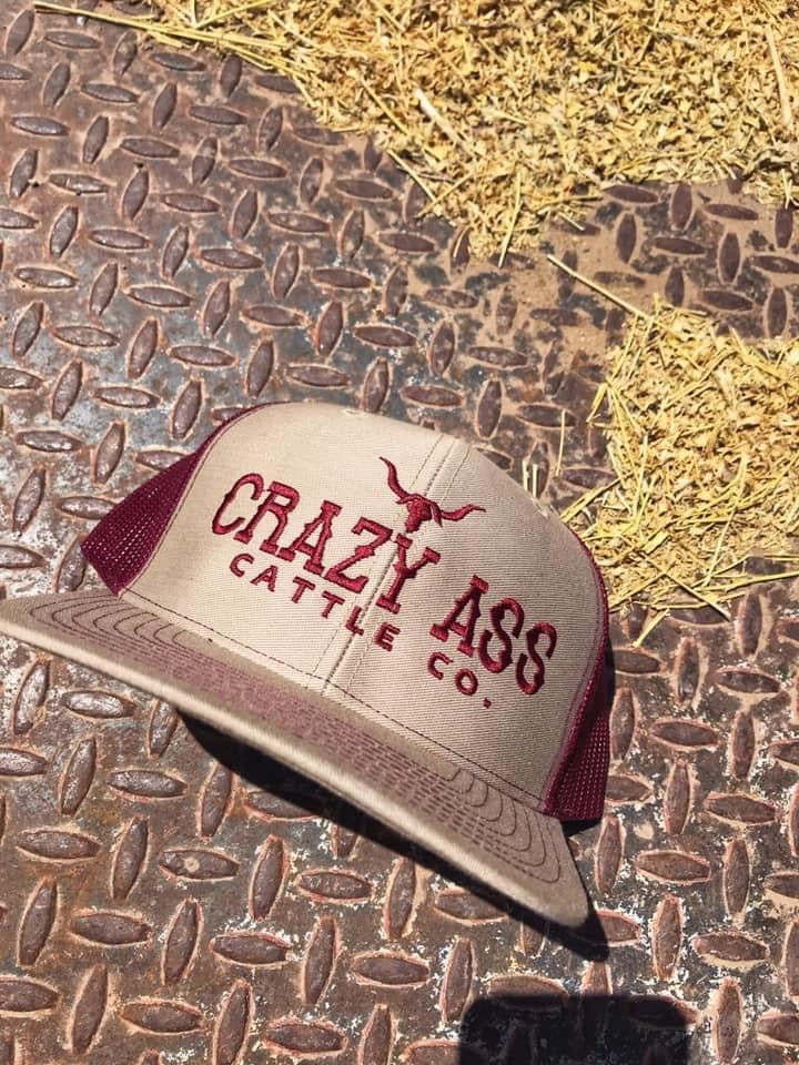 Crazy Ass Cattle Co. Hat