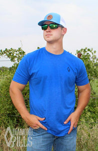 Tested Royal Blue Men's Tee- Sale