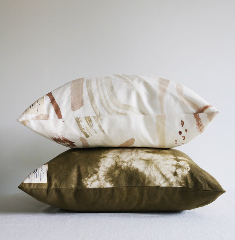 The Orchard Collection: Shibori Throw Pillow Covers