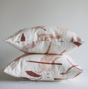 The Orchard Collection: Painted Throw Pillow Covers
