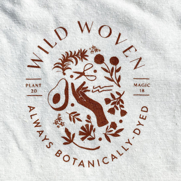 The Wild Woven Silk-Screened Hemp T-Shirt: Limited 2nd Anniversary Edition!
