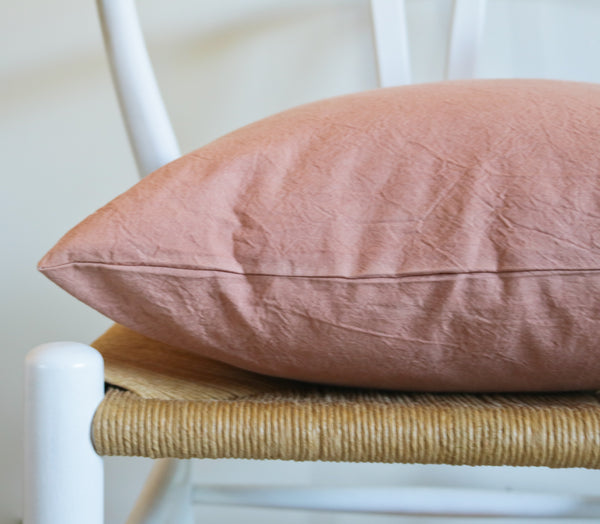 Cutch-Dyed Cotton Throw Cushion Covers