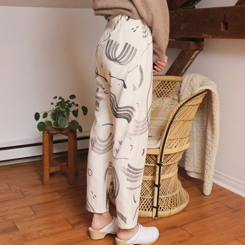 Silk Noil Lounge Pants