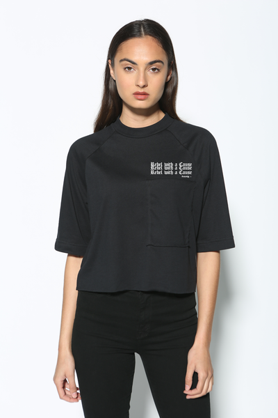 Rebel With A Cause Oversized Pocket
