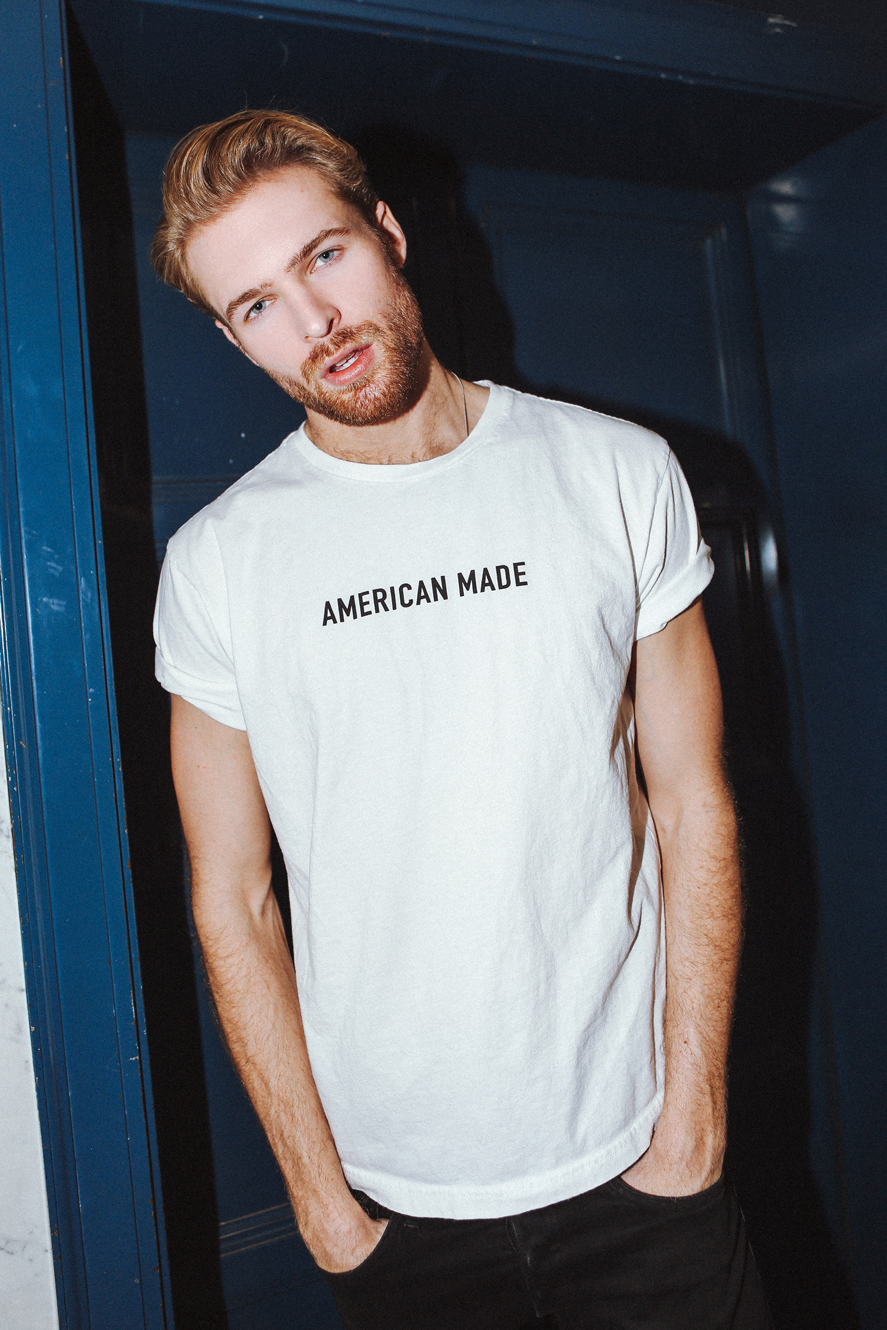 --White Top - Streetwear AmericanMade Unisex Diversity Graphic Tee--