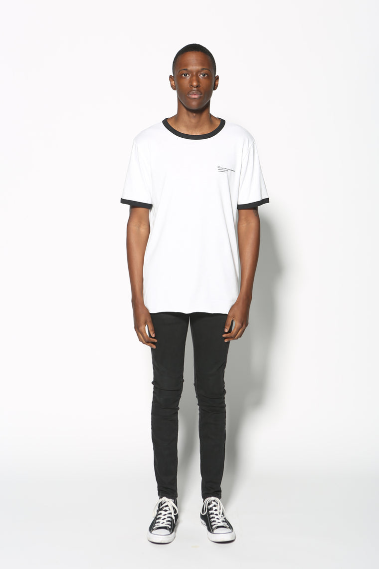 Top - Be You Graphic Contrast Tee