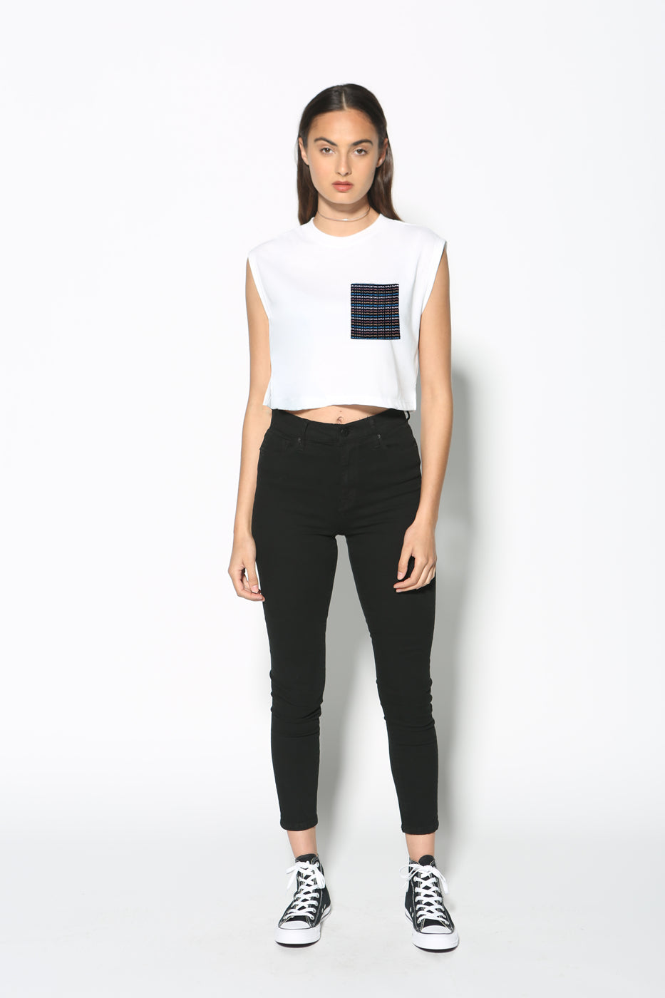 --Top - Girls Supporting Girls Cropped Tank--