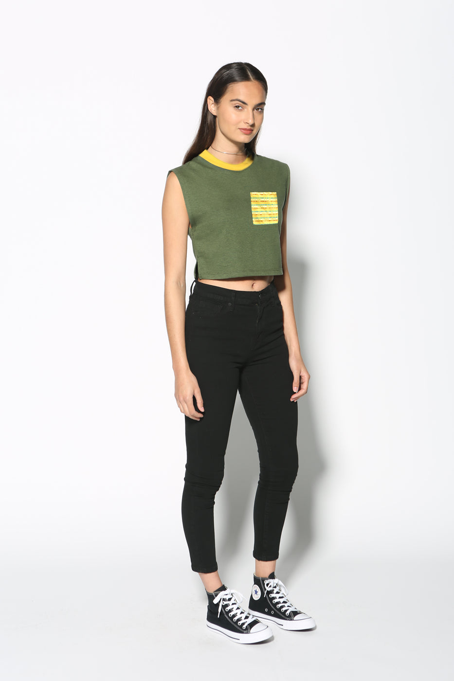 Top - Girls Supporting Girls Cropped Tank