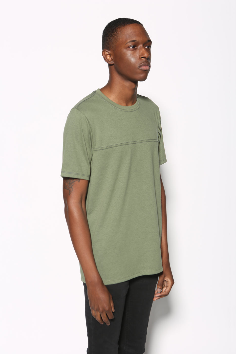 Top - Koya Yoke Block Tee